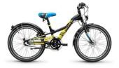 Kinder / Jugend S´cool XXlite steel 20 3-S black/yellow matt