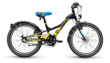 Kinder / Jugend S´cool XXlite steel 20 3-S black/yellow matt