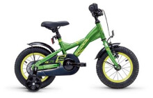 Kinder / Jugend S´cool XXlite steel 12 green/yellow