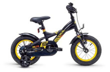 Kinder / Jugend S´cool XXlite steel 12 black/yellow