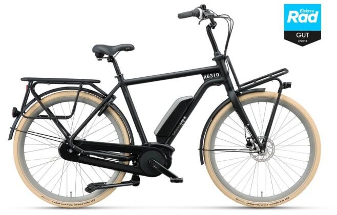 E-Bike Batavus Quip E-go black matt Herren 2019