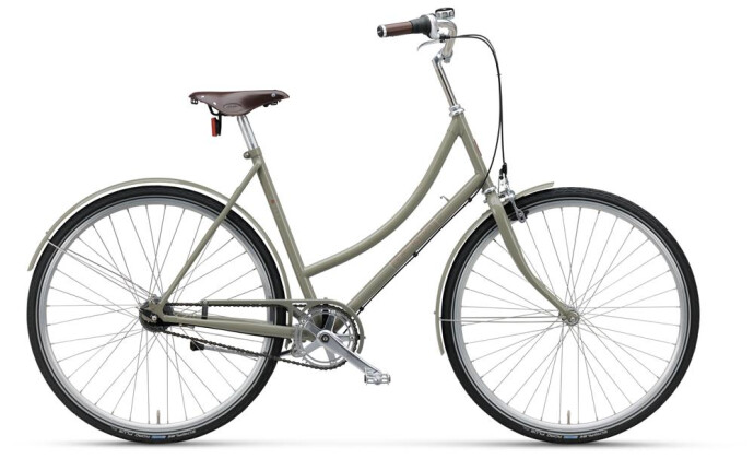 Citybike Batavus London Vintage Curve concrete grey 2019