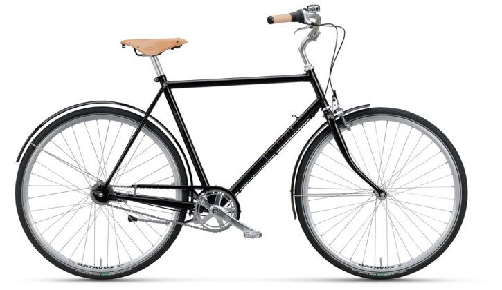 Citybike Batavus London Vintage Herren blackpearl 2019