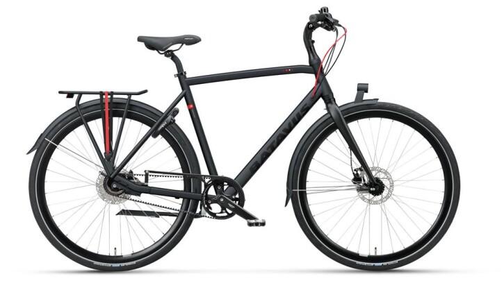 Citybike Batavus Suerte Herren black matt 2019