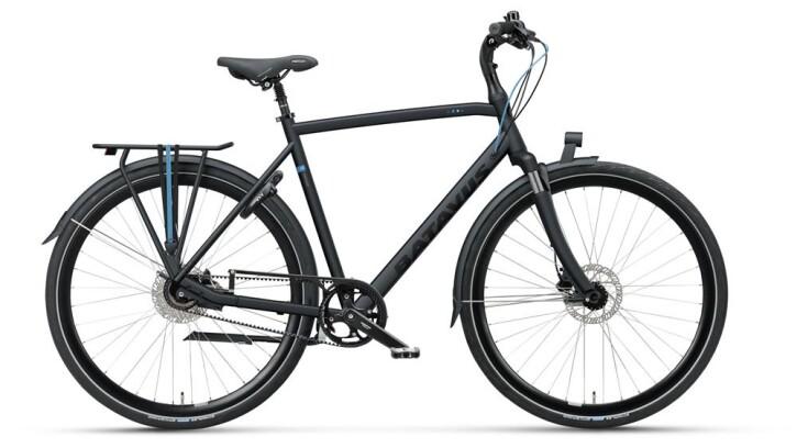 Citybike Batavus Comodo Herren black matt 2019