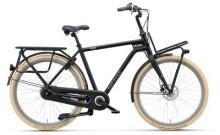 Citybike Batavus Quip Extra Cargo Herren black matt