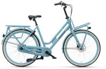 Citybike Batavus Quip Extra Cargo Curve lightblue matt