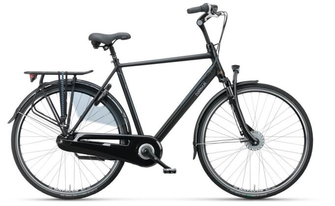 Citybike Batavus Wayz Comfort Herren black matt 2019
