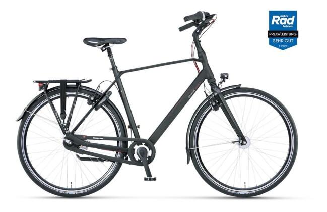 Citybike Batavus Escala Herren black matt 2019