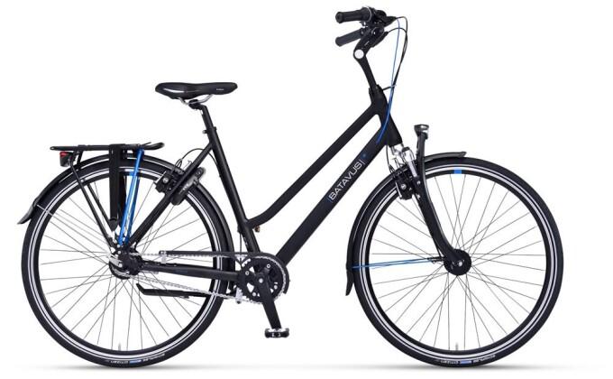 Citybike Batavus Agudo Curve black matt 2019