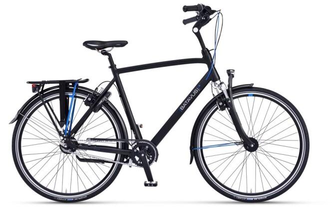 Citybike Batavus Agudo Herren black matt 2019