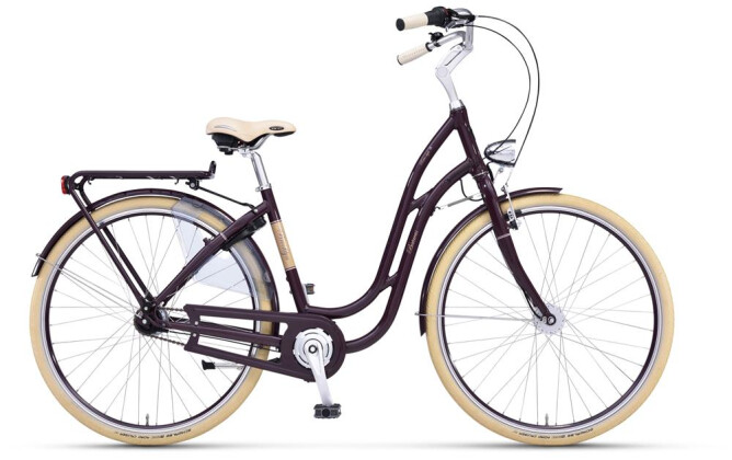 Citybike Batavus Brooklyn Tourensport aubergine 2019