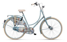 Hollandrad Batavus Old Dutch Fashion Nostalgie iceblue