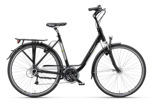 Trekkingbike Batavus Tourmalet Mono black matt 2019