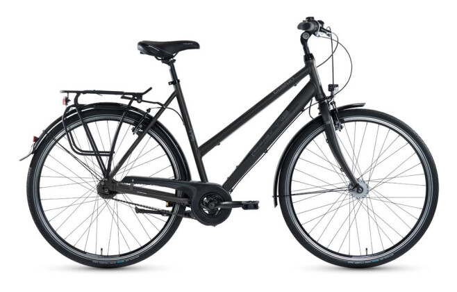 Citybike Grecos Boston schwarz 2019