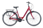 Citybike Grecos Boston burgund