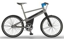 E-Bike iweech iweech urban dark grey anodized