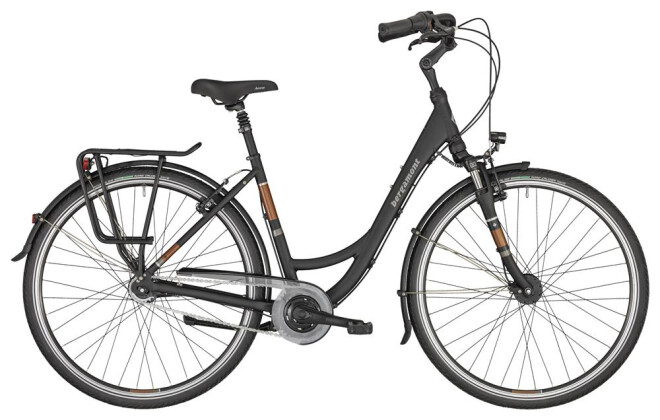 Citybike Bergamont Belami N7 black 2020