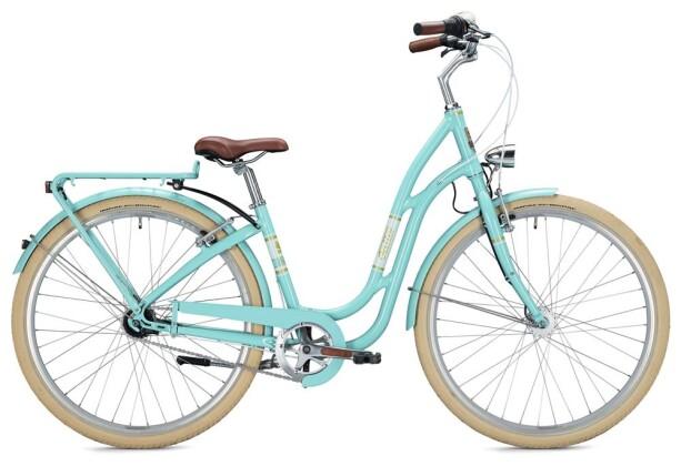 Hollandrad Falter R 4.0 Classic / turquoise 2020