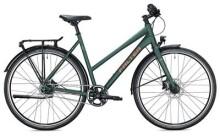 Urban-Bike FALTER U 6.0 Trapez / dark green-gold
