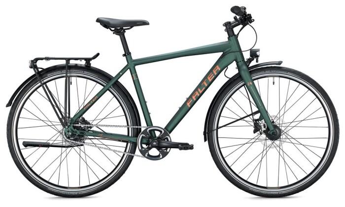 Urban-Bike Falter U 6.0 Herren / dark green-gold 2020