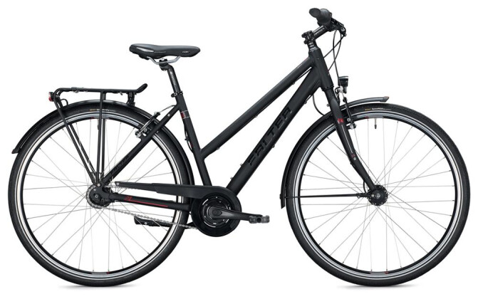 Urban-Bike Falter U 4.0 Trapez / black-red 2020