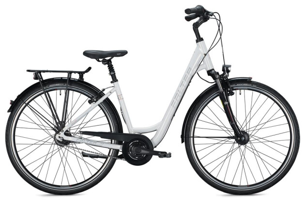 Citybike Falter C 5.0 Wave / white 2020