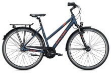 Citybike Falter C 5.0 Trapez / blue-red