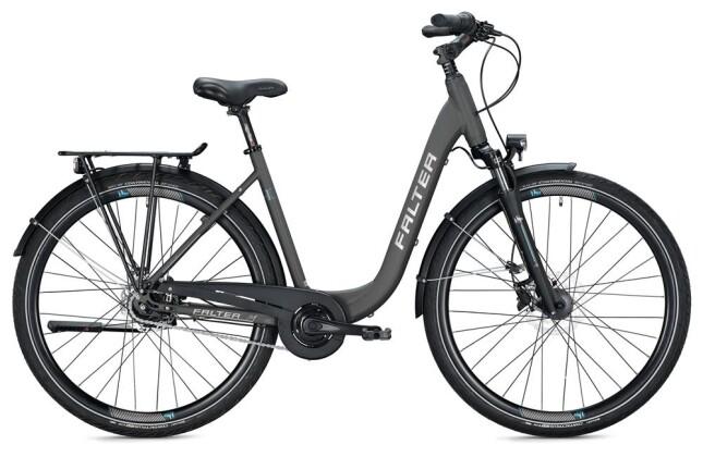 Citybike Falter C 4.0 PLUS / titanium-blue 2020