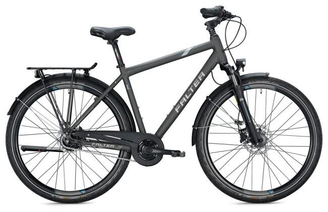 Citybike Falter C 4.0 PLUS Herren / titanium-blue 2020
