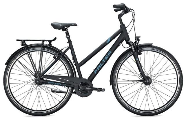 Citybike Falter C 4.0 Trapez / black-grey 2020
