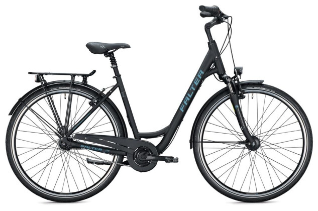 Citybike Falter C 4.0 Wave / black-grey 2020