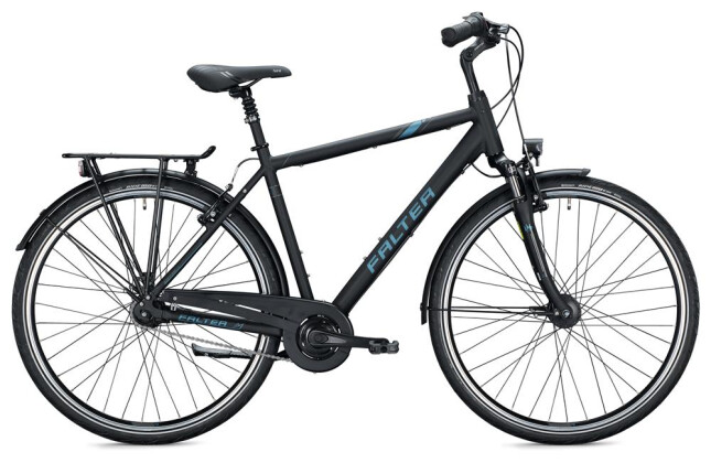 Citybike FALTER C 4.0 Herren / black-grey 2020