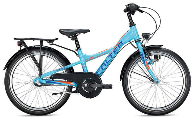 Kinder / Jugend FALTER FX 203 Y-Lite / light blue-orange 2020