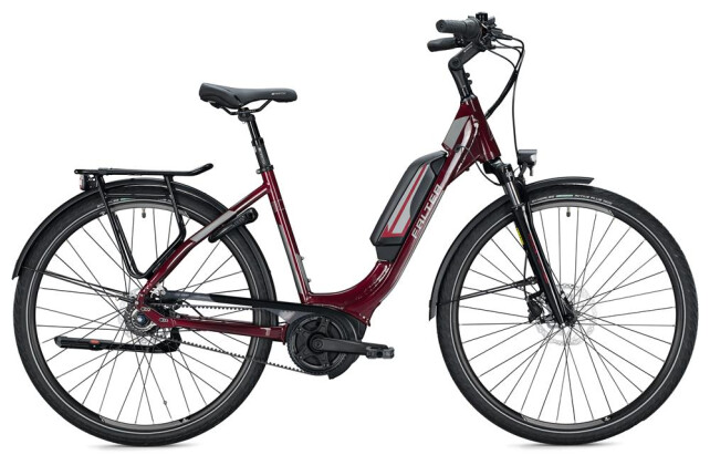 E-Bike FALTER E 9.5 FL Wave / bordeaux 2020