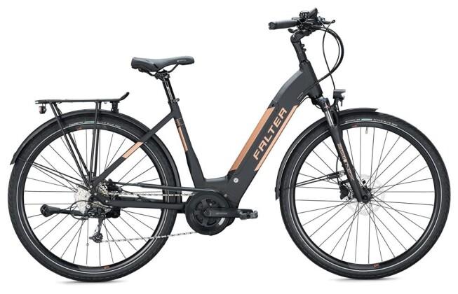 E-Bike FALTER E 9.8 KS Wave / black 2020