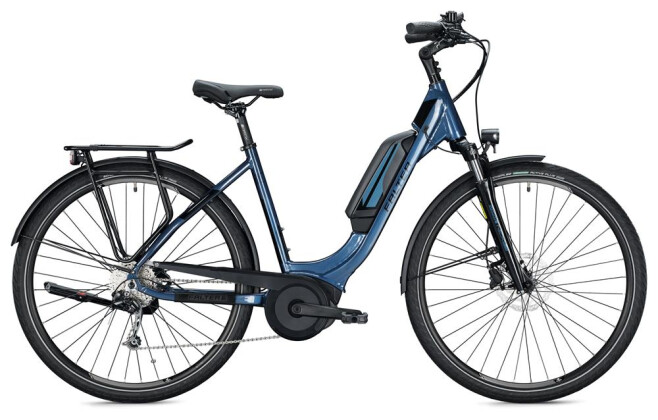 E-Bike FALTER E 9.0 KS 500 Wave / dark blue-black 2020