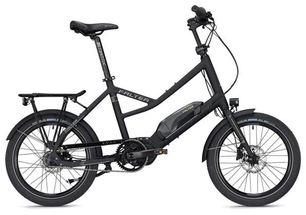 E-Bike FALTER E COMPACT 1.0 / black-grey 2020