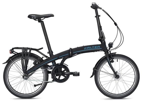 Faltrad Falter F 3.0 DELUXE / black-grey 2020