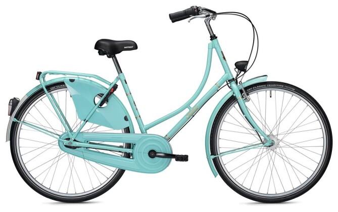 Hollandrad Falter H 3.0 Classic / turquoise 2020