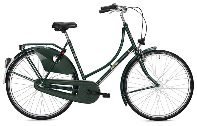 Hollandrad FALTER H 1.0 Classic / green 2020
