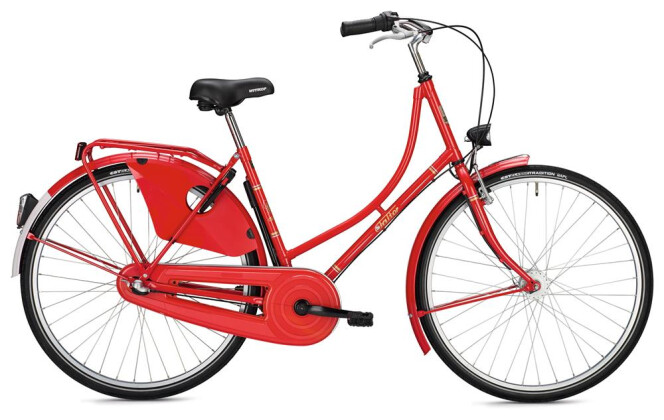 Hollandrad FALTER H 1.0 Classic / red 2020