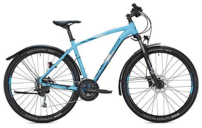 Trekkingbike Morrison XM 5.0 / blue-silver 2020