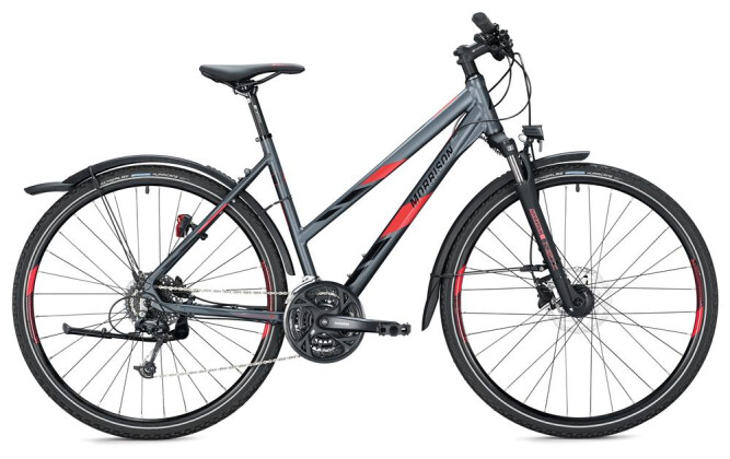 Crossbike Morrison X 3.0 Trapez / anthracite-red 2020