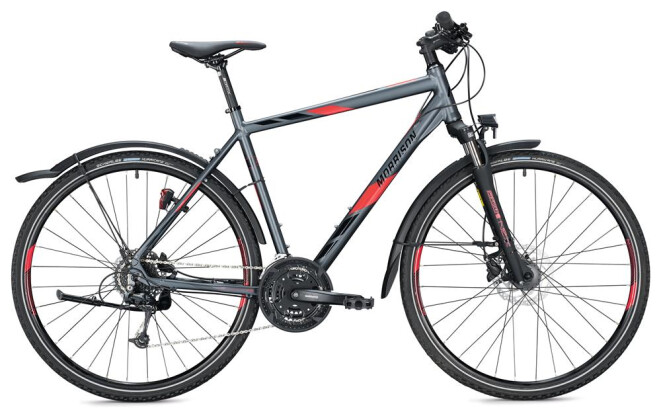 Trekkingbike Morrison X 3.0 Herren / anthracite-red 2020
