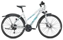 Trekkingbike MORRISON X 3.0 Trapez / white-petrol