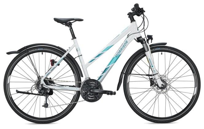Trekkingbike Morrison X 3.0 Trapez / white-petrol 2020