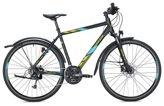 Trekkingbike Morrison X 3.0 Herren / black-blue 2020