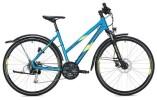 Trekkingbike Morrison X 2.0 Trapez / blue-neon yellow