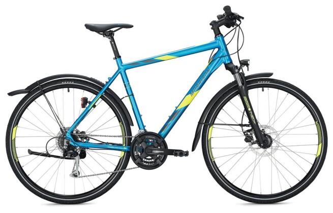 Trekkingbike Morrison X 2.0 Herren / blue-neon yellow 2020